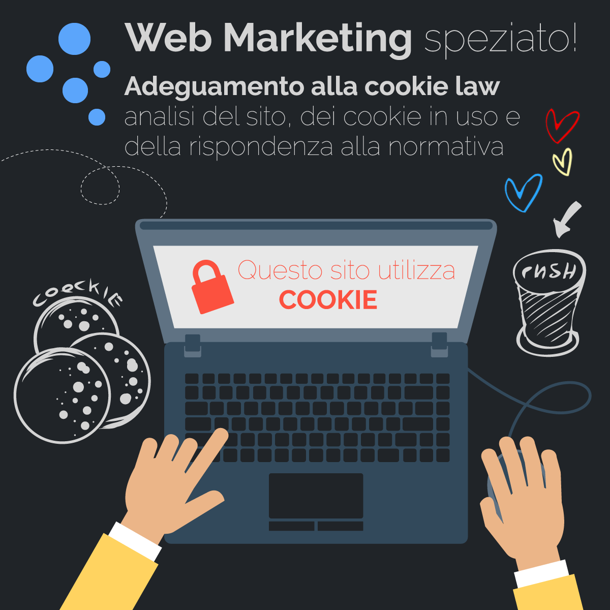 Analisi ed adeguamento cookie law e privacy