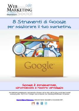 Google 8 strumenti di marketing