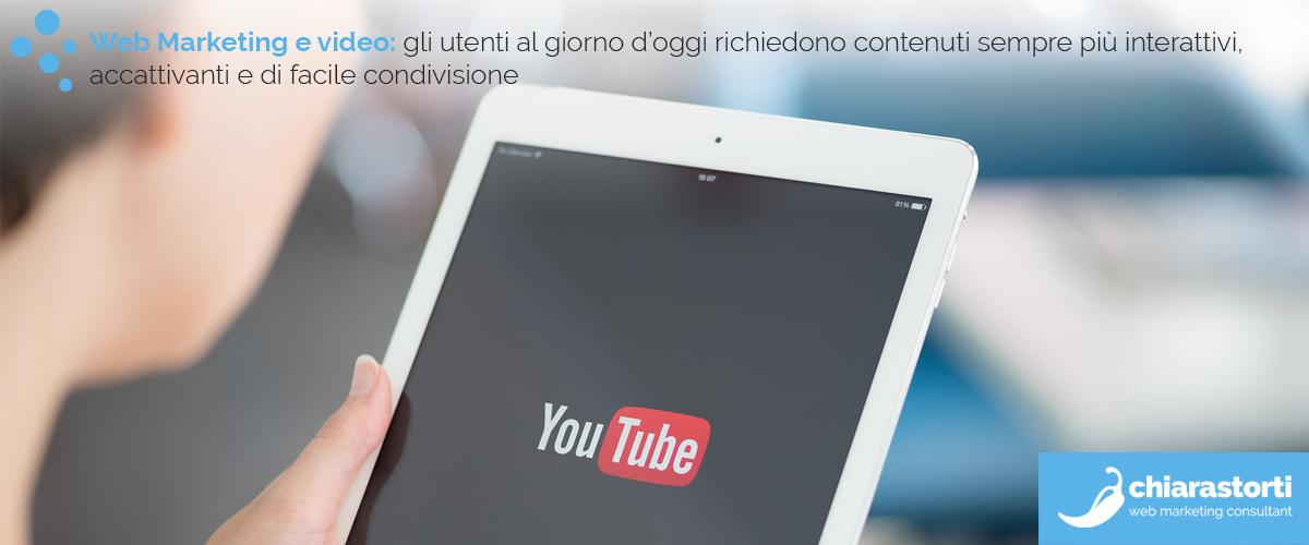 L'incidenza dei video all'interno di una strategia di marketing