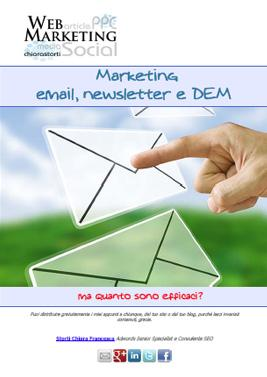 Marketing email, newsletter e DEM