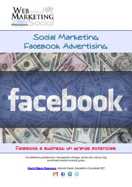Social Marketing: Facebook Ads