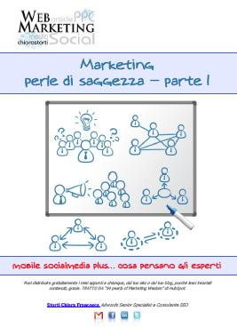 Marketing perle di saggezza - parte 1