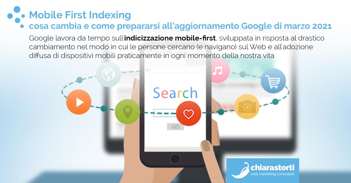 Mobile First Indexing: cosa cambia e come prepararsi all'aggiornamento Google di marzo 2021
