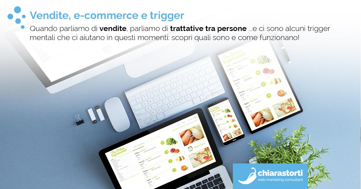 Vendite, e-commerce e trigger